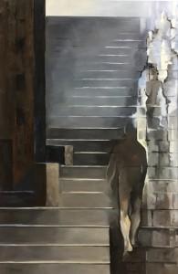 1 Olga Prokop-Miśniakiewicz, Droga czterech bram 1, olej na płótnie, 100x80, 2017