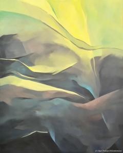 galeriaZESPOLENIE VI, olej na płótnie, 100x80, 2015