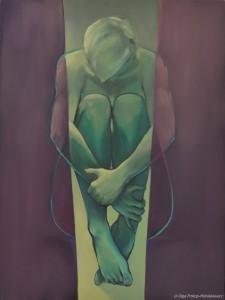 galeriaNastroje III, olej na plotnie, 80x60, 2015