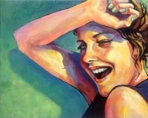 galeriagaleriaSo good so fun, olej na plotnie, 40x50, 2014